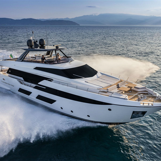Ferretti Group brings the great Made in Italy boating to the International Cruise And Yachting Festival in Hong Kong