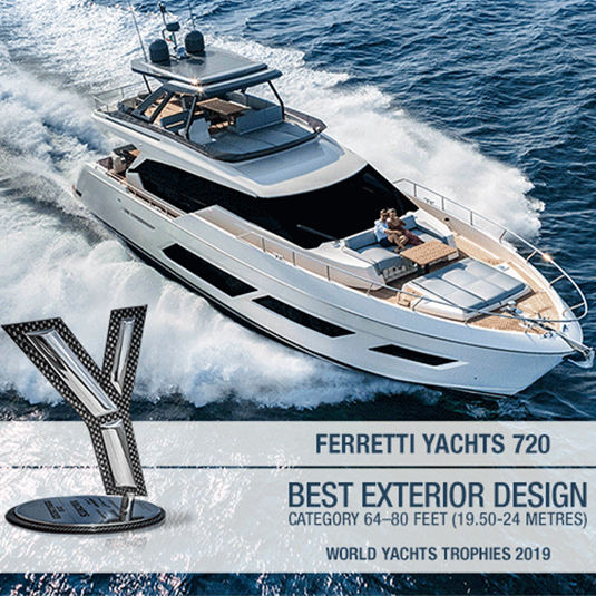 Ferretti Group swept the World Yachts Trophies 2019 with 5 great awards!